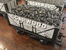 Hornby Scarwood Coal Wagon with Coal Load - OO Gauge